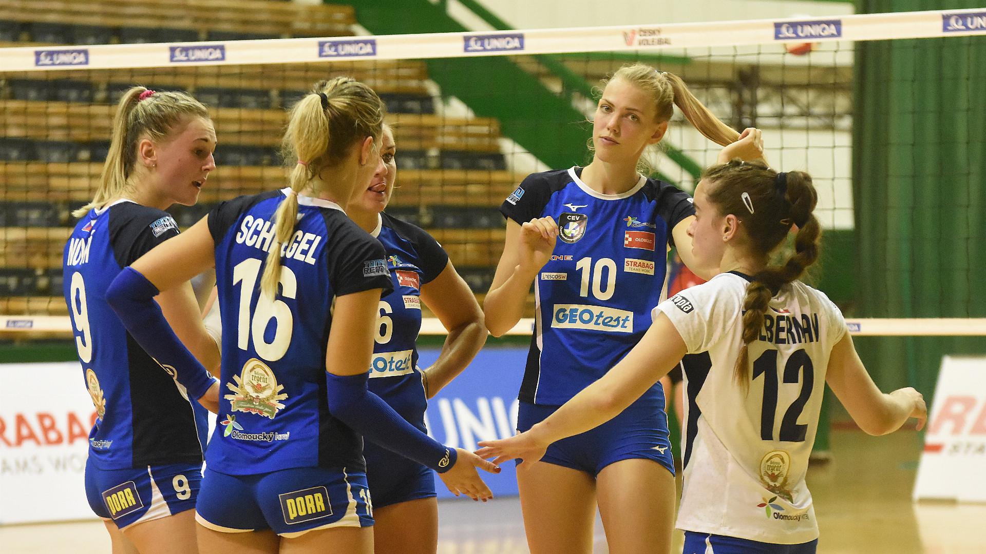 Volejbalistky VK UP Olomouc začaly Ligu mistryň špatně